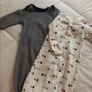 Carters infant gowns